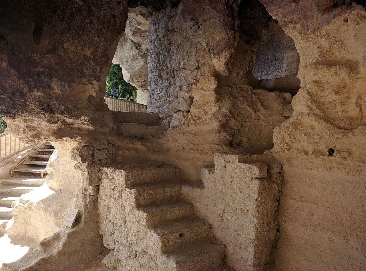 Az Aladzsa kolostor belülről