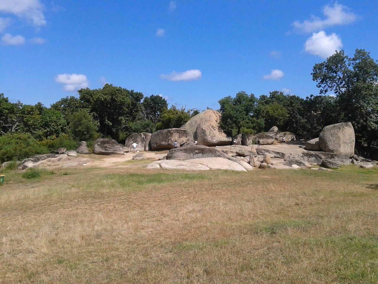 Beglik Tas ősi sziklái